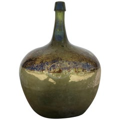 """Demijohn with """"17"""" Insignia from Mexico"""