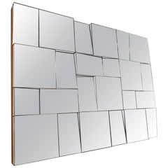 Neal Small Style Multi-Faceted Mirror