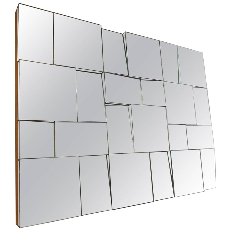 Neal Small Style Multi Faceted Mirror