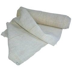 Vintage Linen Grain Sack Fabrica