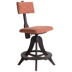 Industrial Painters Stool, circa 1940