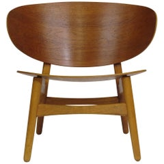 Hans Wegner Teak Shell Chair FH