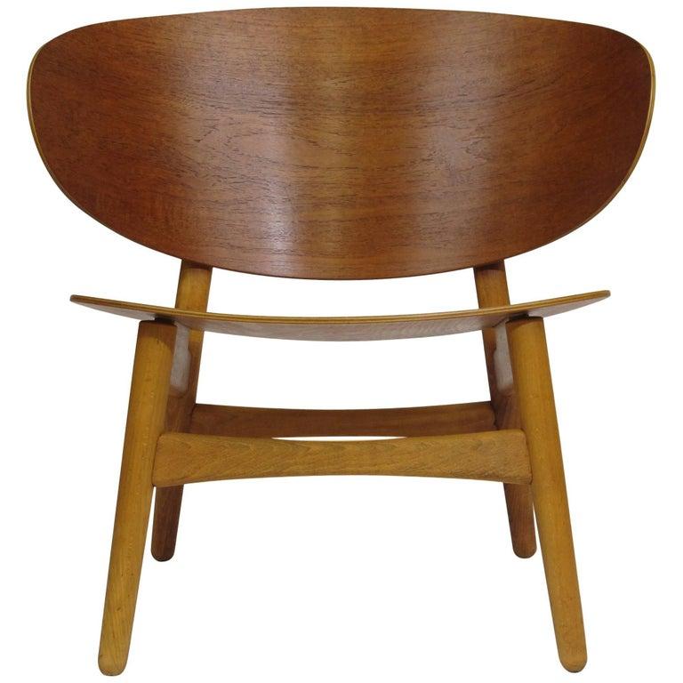 Hans Wegner Teak Shell Chair FH, 1936