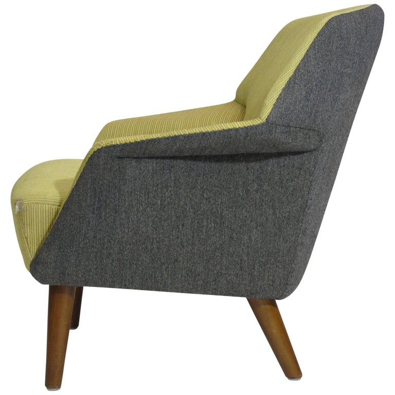 Aksel Bender Madsen Danish Lounge Chair for Reupholstery