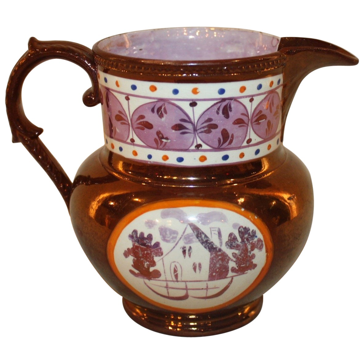 """French 19th Century """"Pitcher"""""""