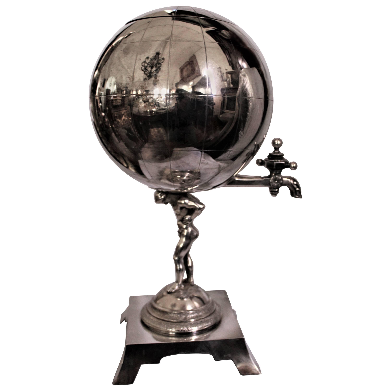 Gorham Sterling Silver American Figural Tea Urn