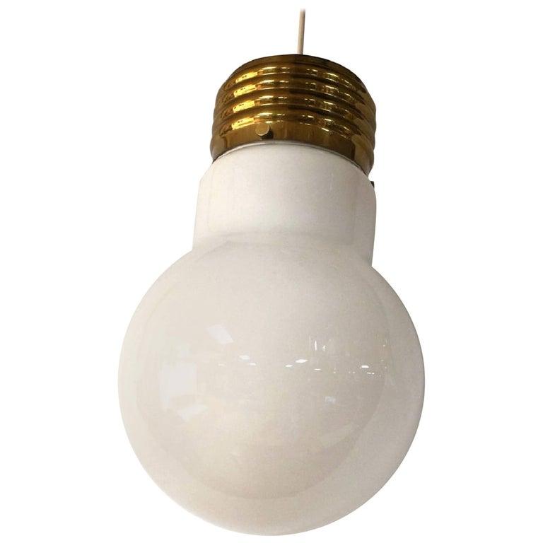 Pop Art Light Bulb Pendent Chandelier