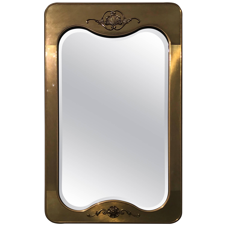 Mastercraft Brass Mirror