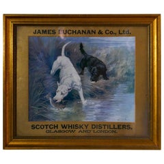 Morning Nip, Original Framed Advertising Print for Buchanan's Whisky