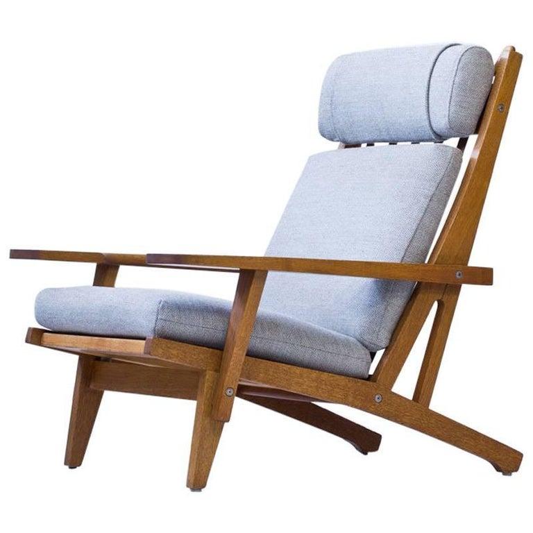 GE 375 Lounge Chair by Hans J. Wegner for GETAMA, Denmark, 1960s