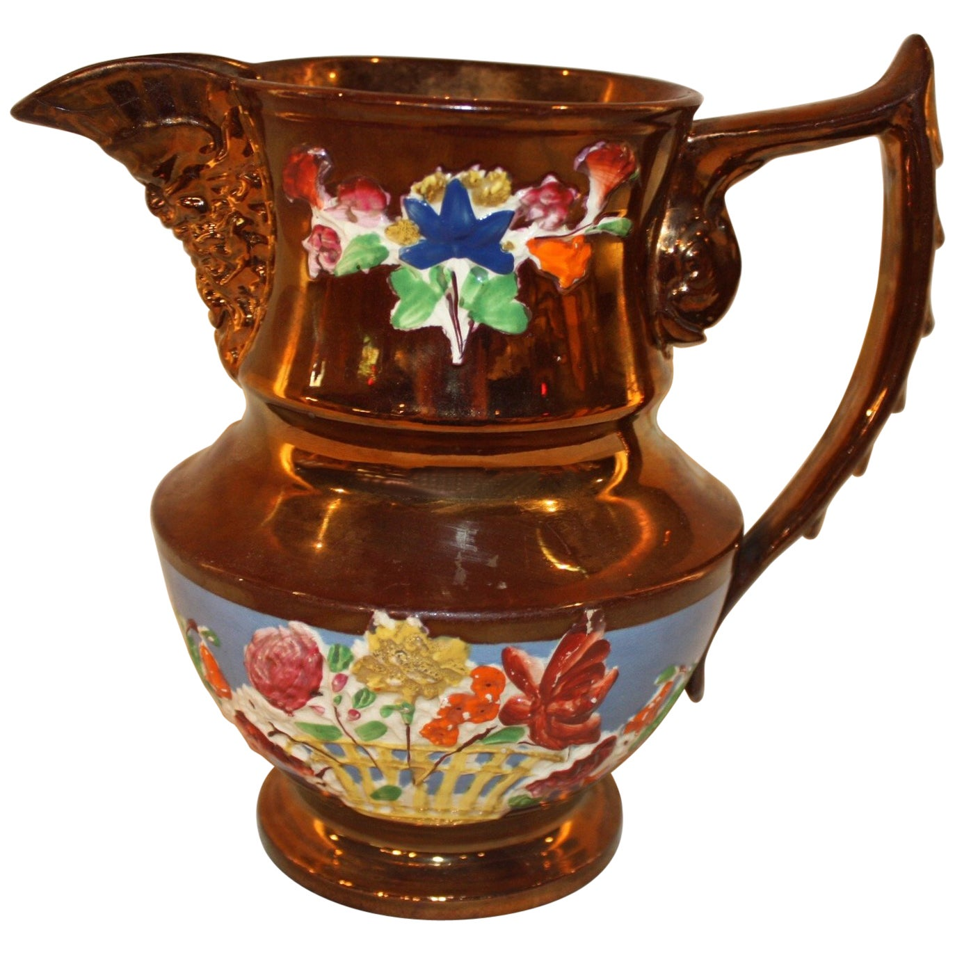 19th Century French Pitcher
