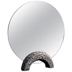Contemporary Replica 'Lost Foam' Aluminium Dresser Mirror by Studio Furthermore