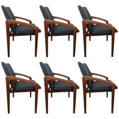 Six Kai Kristiansen Dining Chairs