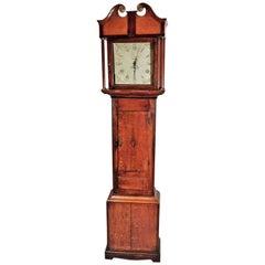 Georgian Oak Tall Case Clock by Isaac Court of Henley, England, circa 1800