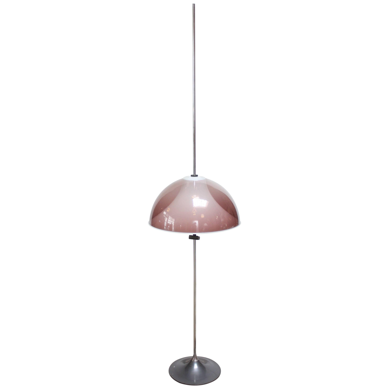 Italian Modern Adjustable Floor Lamp Attributed to Gino Sarfatti