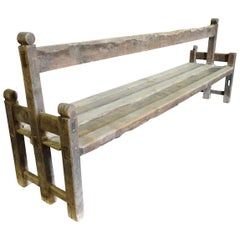 17th Century Spanish Double Sided Bench