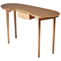 Italian Console Table or Vanity Desk, 1940s