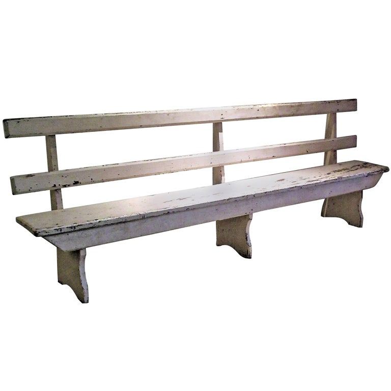 Antique Rustic Long Bench