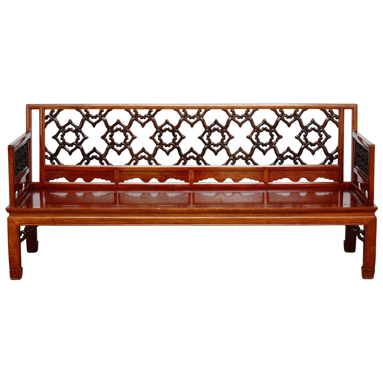 Neoclassical Style Greek Key Bench Or Sofa For Sale At 1stdibs