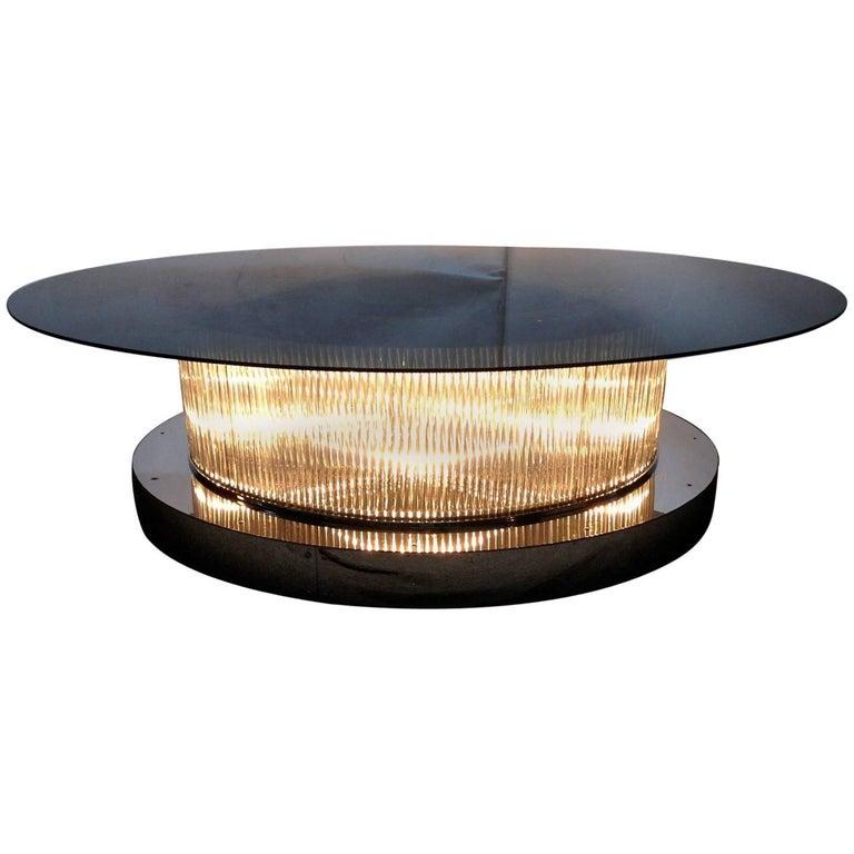Crystal Bars Coffee Table