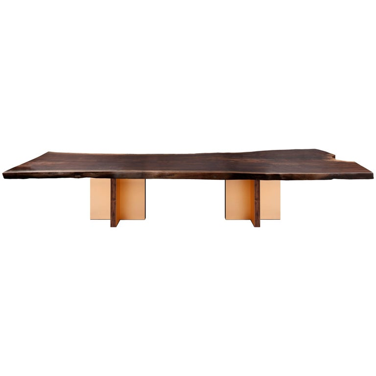 Monarch Extra Large Slab Dining Table by Studio Roeper