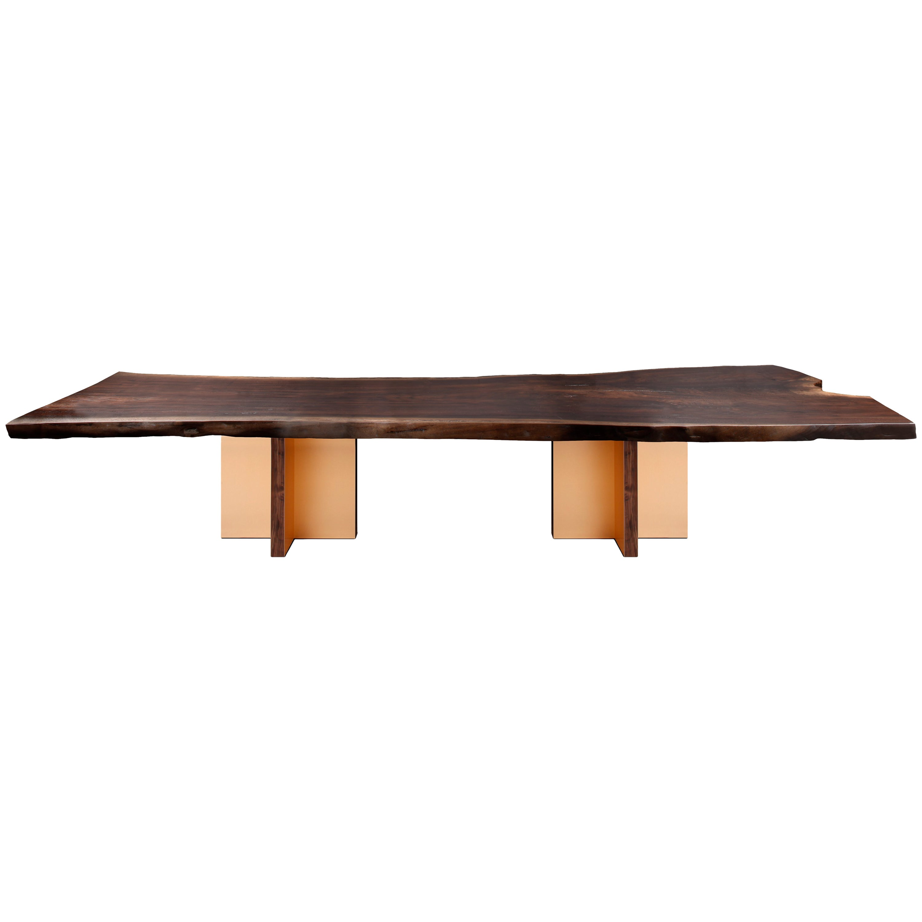 """""""Monarch"""" Extra Large Slab Dining Table by Studio Roeper"""