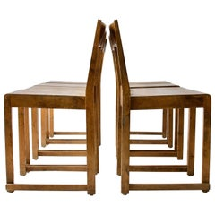 Set of Eight Dining Chairs by Sven Markelius
