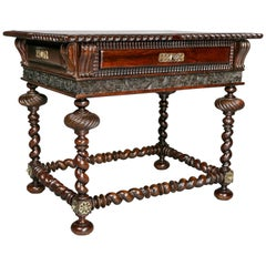 Portuguese Colonial Rosewood Table