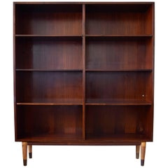 Danish Omann Jun Rosewood Bookshelf, Cabinet, 1960s