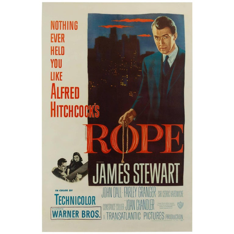 Rope Us Film Poster, 1948