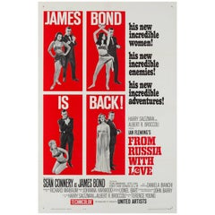 """""""From Russia with Love"""", US Film Poster, 1963"""