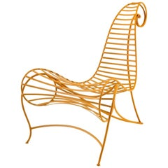 Ceccotti Spine Armchair Made of Iron Rod in 6 Different Color Options, Ceccotti