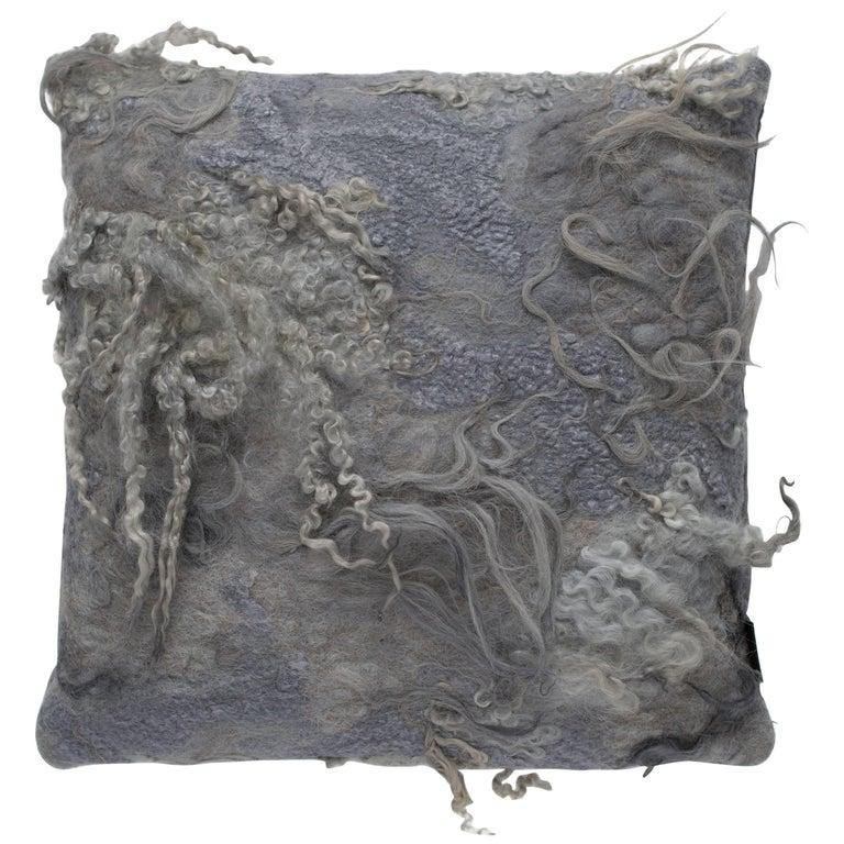 Maharam Pillow, Drenthe Heath by Claudy Jongstra