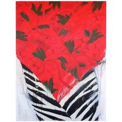 Robert Zakanitch Monumental Acrylic Painting, Pattern and Decoration 1983