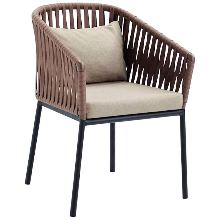 Kettal outdoor furniture Rope Garden Kettal Bitta Dining Or Lounge Chair For Outdoors By Rodolfo Dordoni For Sale 1stdibs Kettal Bitta Dining Or Lounge Chair For Outdoors By Rodolfo Dordoni
