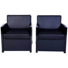 Exceptional Pair Of Art Deco Armchairs