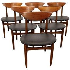 Set of 6 Mid-Century Modern Warren Church Lane 'Perception' Dining Chairs