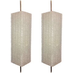Pair of 1960s French Mid Century Wall Lights