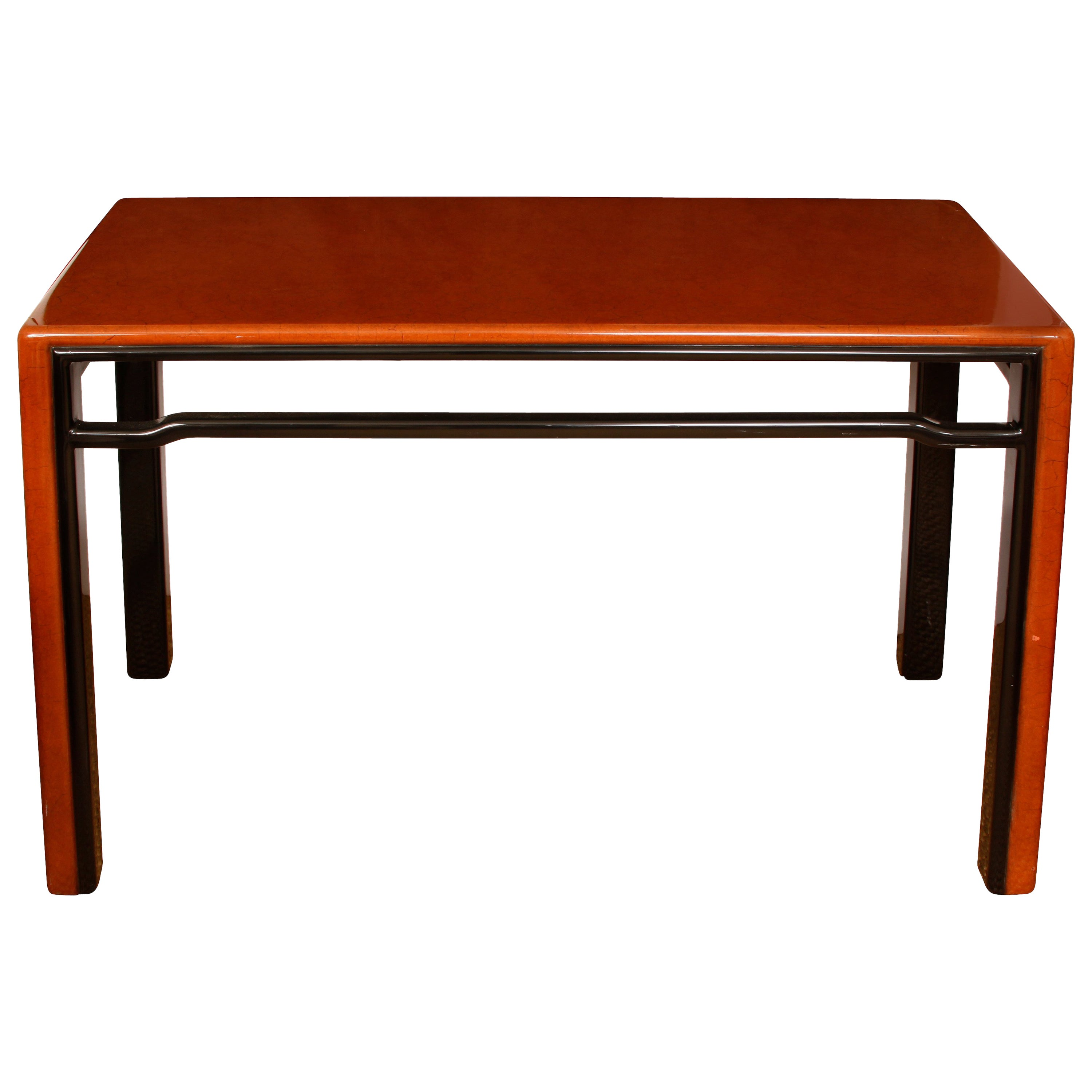 Two-Tone Lacquered Console