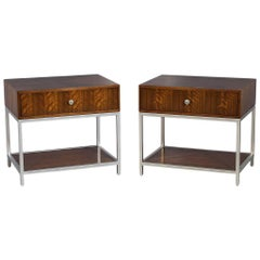 Pair of Modern Night Table Stands