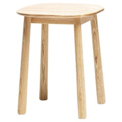 Contemporary Wood Haida Stool 45 Handcrafted in Sweden by David Design