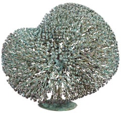 Harry Bertoia Bronze Bush Form Sculpture, USA 1960s