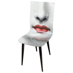 Pierro Fornasetti Bocca Chair, Italy Milano, 2006