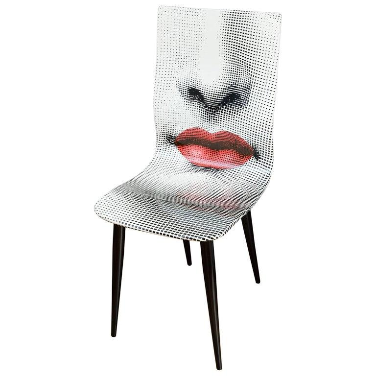 Pierro Fornasetti Bocca Chair, Italy Milano, 2006 For Sale