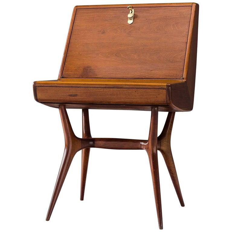 Italian Secretary in Wood For Sale