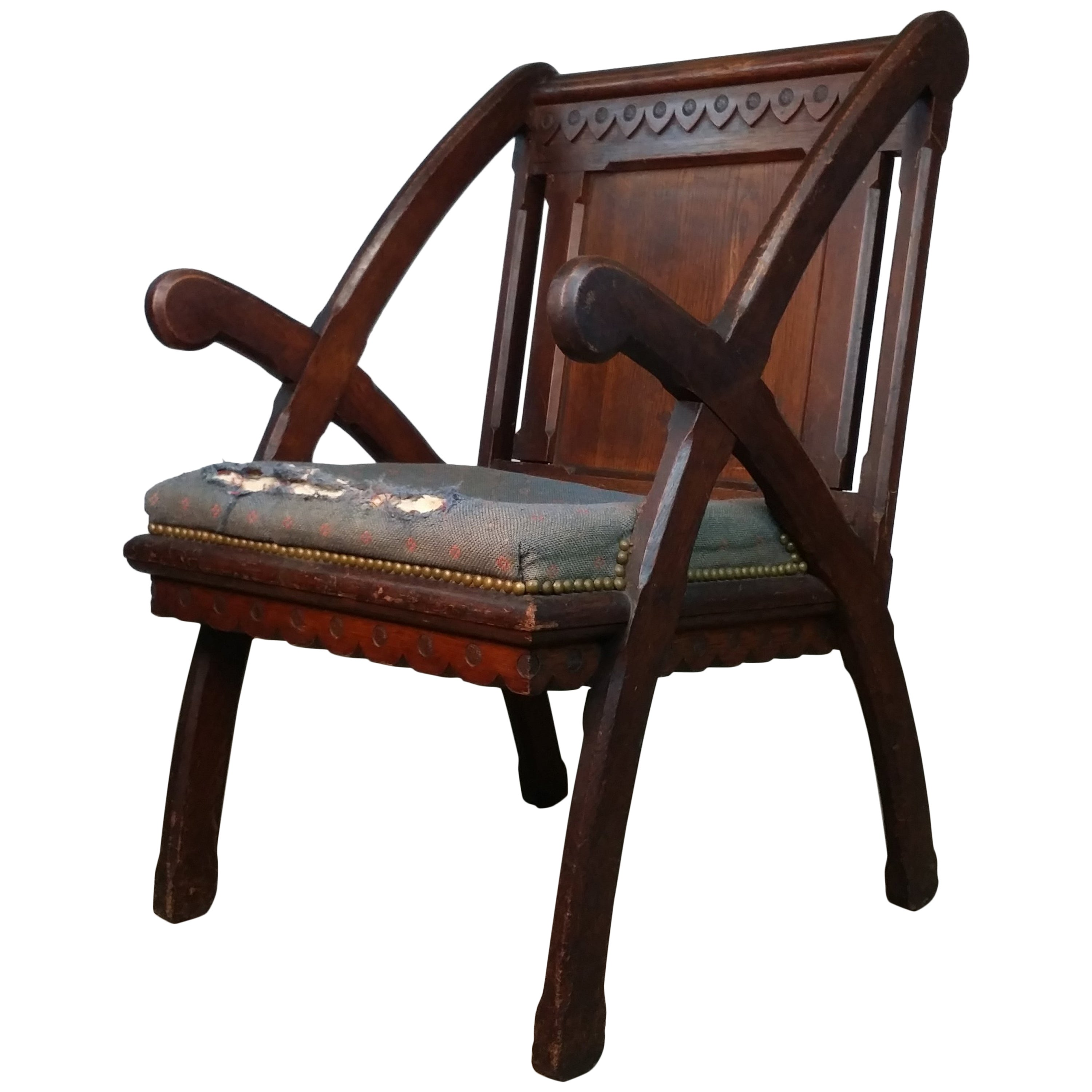 Chair Designed by Architect H. H. Richardson
