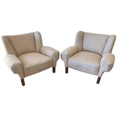 Pair of Mid Century Modern Paul Laszlo Lounge Chairs for Herman Miller