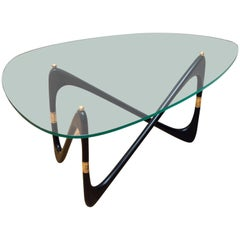 Cesare Lacca Coffee Table, Italy, circa 1950
