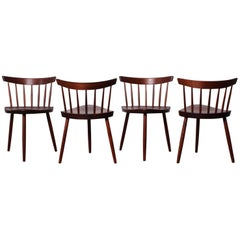Set of Four Mira Chairs by George Nakashima, 1952