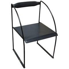 Modern Italian Leather Arm Chair